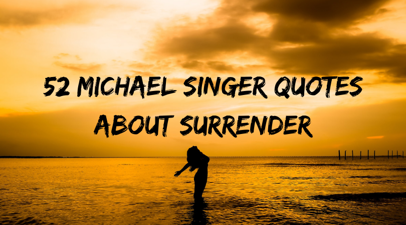 Michael Singer quotes